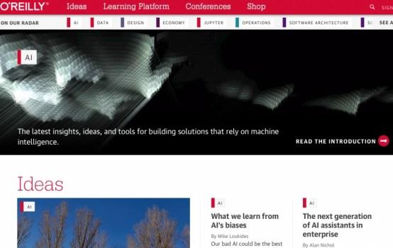 O'Reilly Media's AI blog