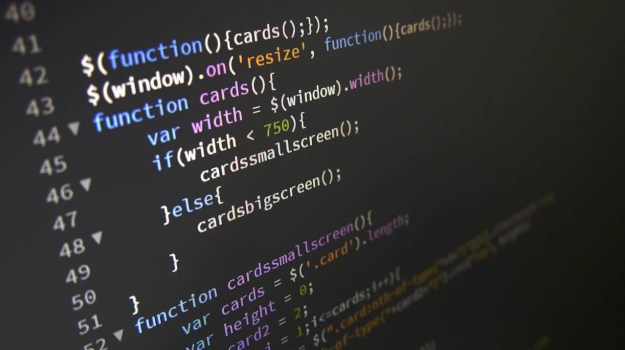 Developers write code to create digital media products