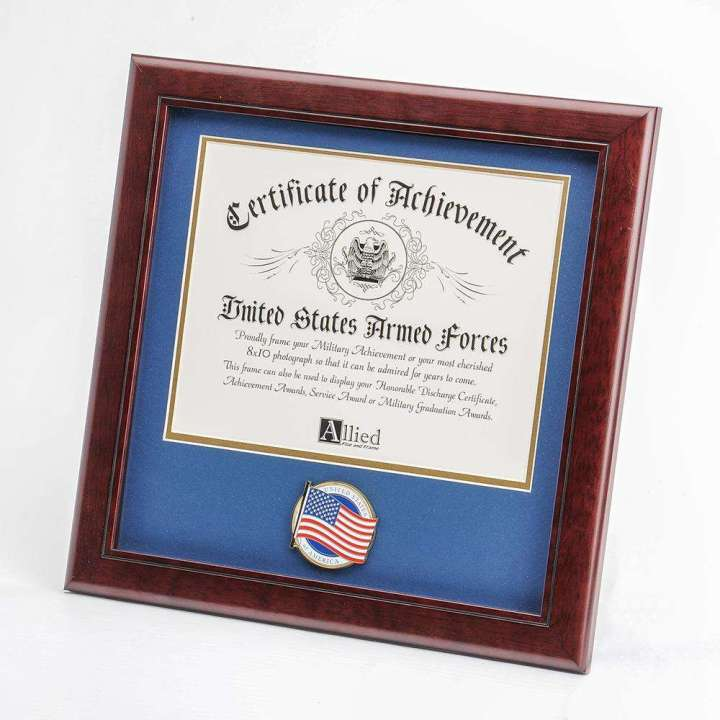 Frame For American Flag And Certificate | Framess.co