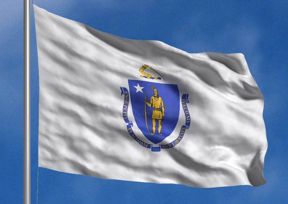 Image result for Massachusetts Flag