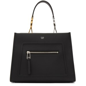 Fendi Black Small Runaway Tote