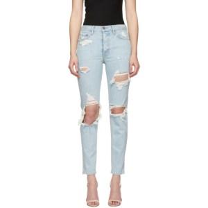 Grlfrnd Blue Karolina High-Rise Jeans