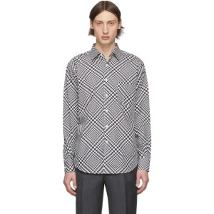 Cobra S.C. White and Black Check Model 1 Shirt