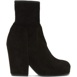 Random Identities Black Suede BO3 Boots