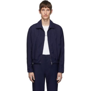 Random Identities Navy Zip-Up Jacket