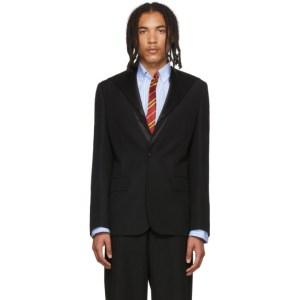 Sankuanz Black Sailor Collar Blazer
