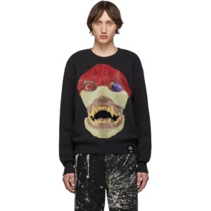 S.R. STUDIO. LA. CA. Black Edition 50 Skulls Sweatshirt