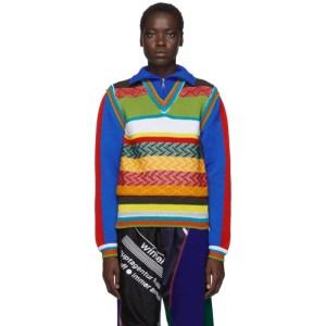Ahluwalia Multicolor AGR Edition Knit Turtleneck