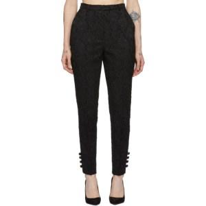 Erdem Black Bernadina Trousers