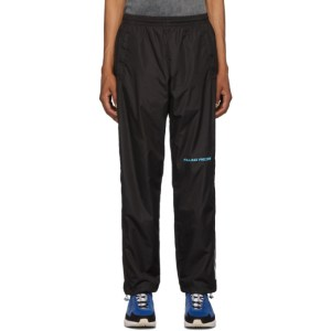 Filling Pieces Black Diagonal Sport Pants