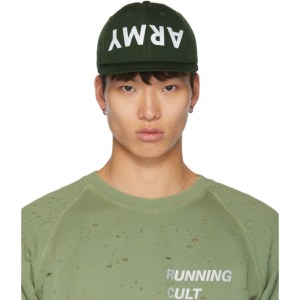 Satisfy Green Dynamic Running Cap