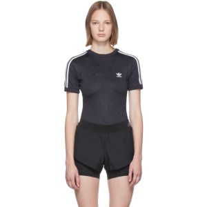 adidas Originals Black Logo Bodysuit