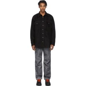 Matthew Adams Dolan Black Western Shirt