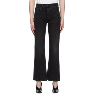 Acne Studios Black Bla Konst Vintage Bootcut Jeans