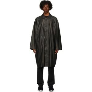 Y-3 Black Travel Raincoat