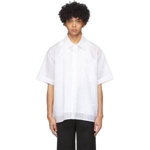 Botter White Poplin Tank Top Shirt