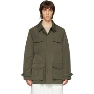 Random Identities Taupe Slim Jacket
