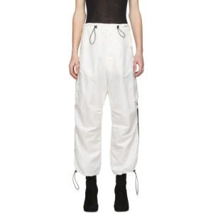 Random Identities White Berlin Baggies Cargo Pants