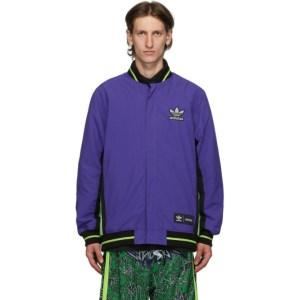Sankuanz Reversible Black and Purple adidas Originals Edition Jacket