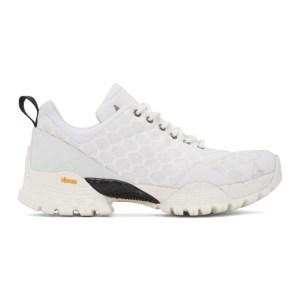 ROA White Oblique Sneakers