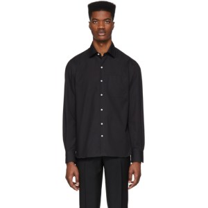 Eidos Black Single Pocket Shirt