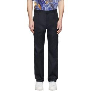 Deveaux New York Navy Chris Trousers