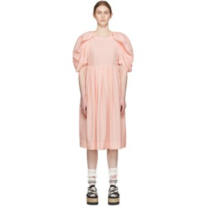 Comme des Garcons Pink Spun Broad Dress