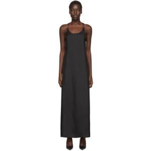 Rudi Gernreich Black Silk Buckle Dress