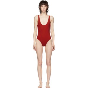 Lido Red Low Back Sette Olympic One-Piece