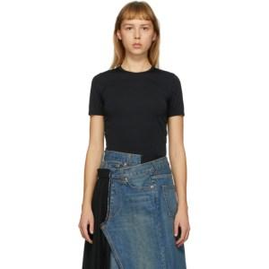Junya Watanabe Black Shrunken T-Shirt