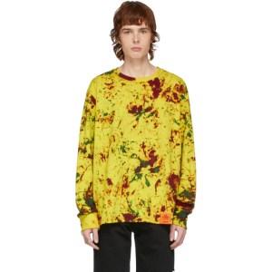 S.R. STUDIO. LA. CA. Yellow SOTO Hand-Dyed YPM Sweatshirt