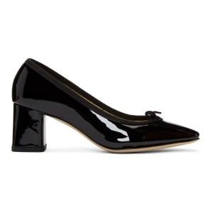 Repetto Black Patent Nastasia Heels