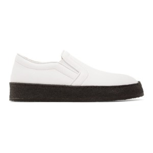 ION White Slip-On Sneakers