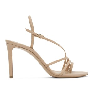 Nicholas Kirkwood Pink Nappa Elements 85 Sandals