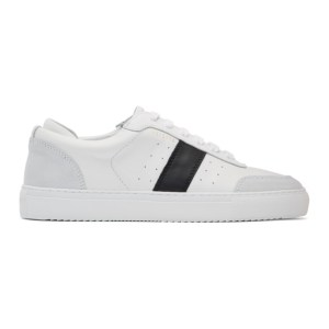 Axel Arigato White and Black Dunk Sneakers