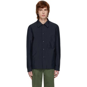 Barena Navy Marotta Shirt Jacket
