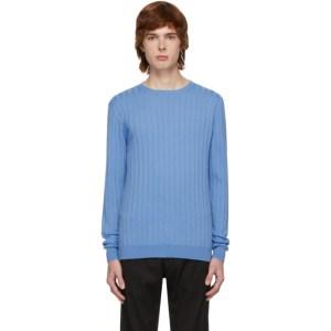 Barena Blue Knit Sweater
