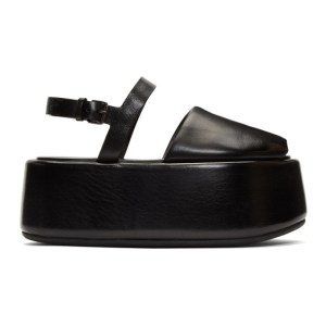 Marsell Black Ceppo Sandals