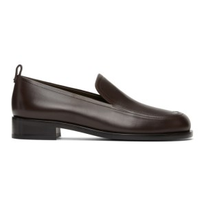 The Row Brown Penny Loafers