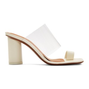 NEOUS Off-White Chost 80 Heeled Sandals