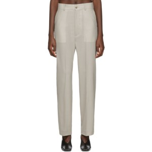 Arch The Grey Straight Trousers