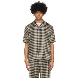 Sasquatchfabrix. Black Block Check Shirt