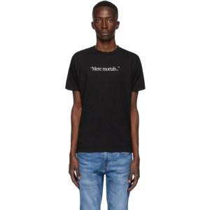 Benjamin Edgar SSENSE Exclusive Black Mere Mortals T-Shirt
