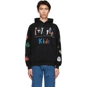 Kids Worldwide Black Kids Hoodie