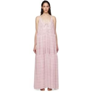 Jacquemus Pink La Robe Mistral Dress