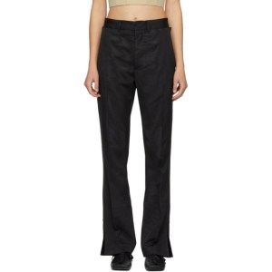 Toga Black Moire Trousers