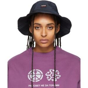 Eytys Navy Ballzy Bucket Hat