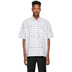Etudes White Wikipedia Edition Illusion Shirt