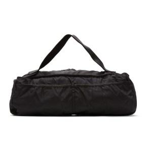 Guidi Black Weekender Expandable Duffle Bag