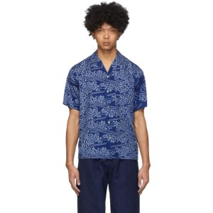 Blue Blue Japan Indigo Yamazakura and Ryusui Shirt